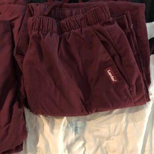 Landau scrubs tops 2, 2 bottoms. Men's. Sz: large.